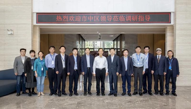 市中区委书记韩永军一行到海南11选5追号计划调研指导